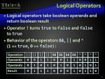 logical operators1