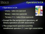 operators in c1