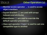 other operators 2