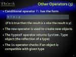 other operators 3