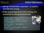 other operators1