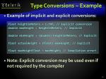 type conversions example