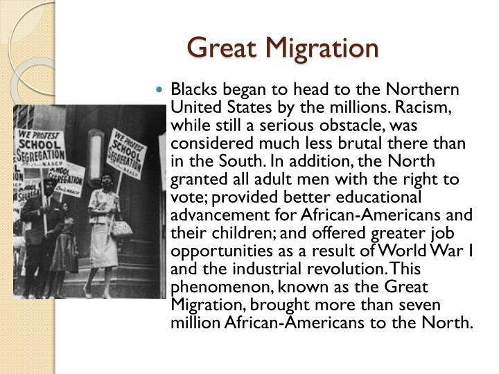essay great migration Migration process takes its origins from the ancient times when people moved from one area to another when natural resources of their habitations became exhausted.
