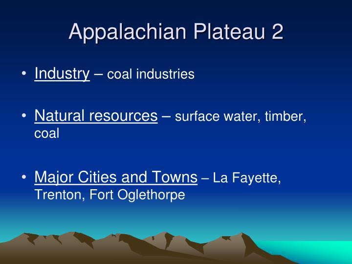 Appalachian Plateau 2