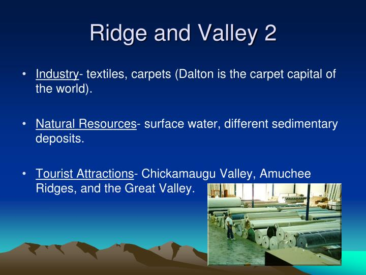 Ridge and Valley 2