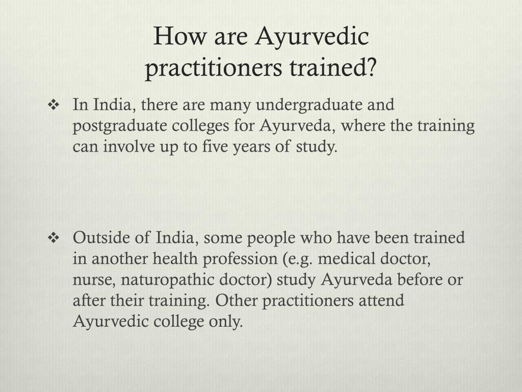 PPT - AYURVEDA PowerPoint Presentation - ID:2478884