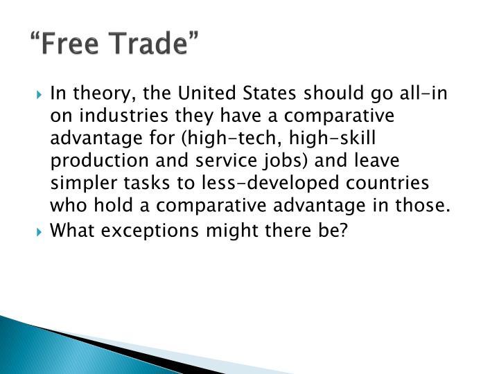 """Free Trade"""