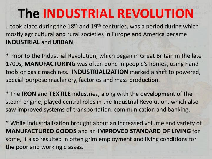 the industrial revolutions that formed the mass society The 4 industrial revolutions since prometheus stole the fire of knowledge from right under the noses of the gods on mount olympus and bestowed it upon mankind, humans have not stopped fiddling with it and creating striking innovations all throughout their evolution.