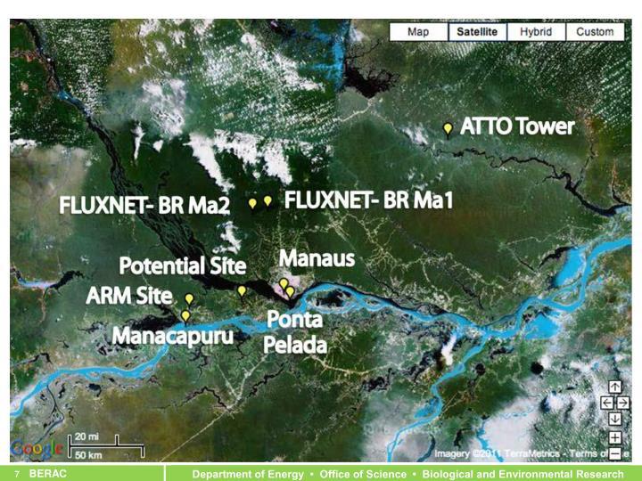 Experiment Locations