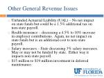 other general revenue issues