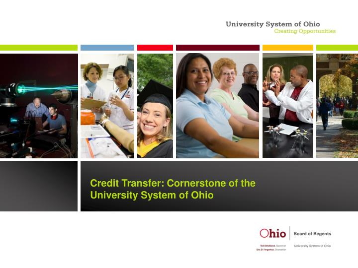 credit transfer cornerstone of the university system of ohio n.