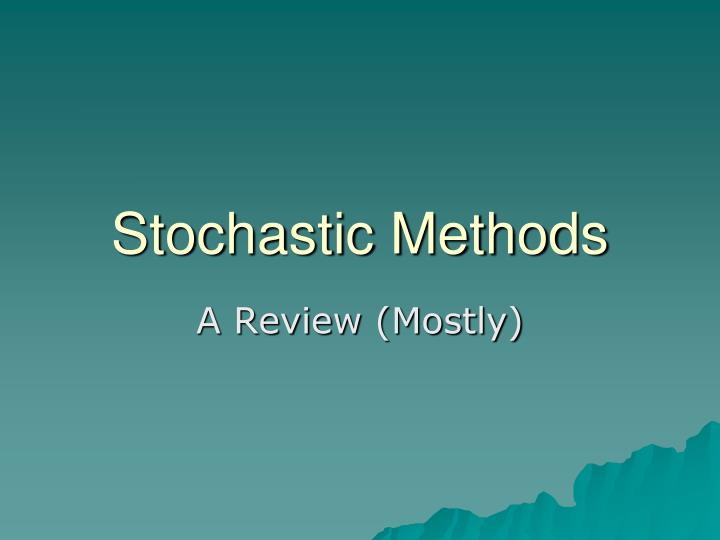 stoicastic method A stochastic quasi-newton method for large-scale optimization r h byrd sl hanseny jorge nocedal z y singer x february 19, 2015 abstract the question of how to incorporate curvature information in stochastic ap.