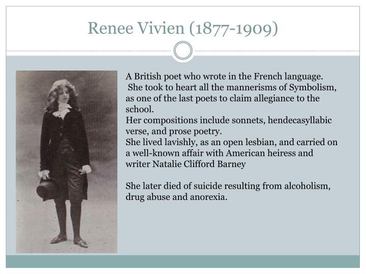 Renee Vivien (1877-1909)