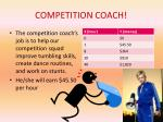 competition coach