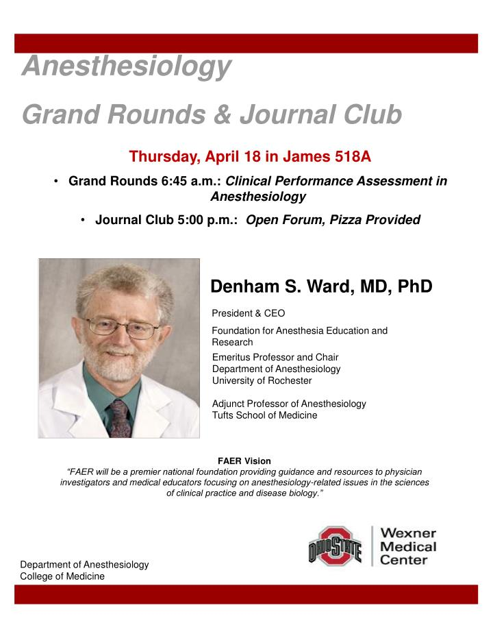 Ppt anesthesiology grand rounds journal club powerpoint anesthesiology grand rounds journal club maxwellsz