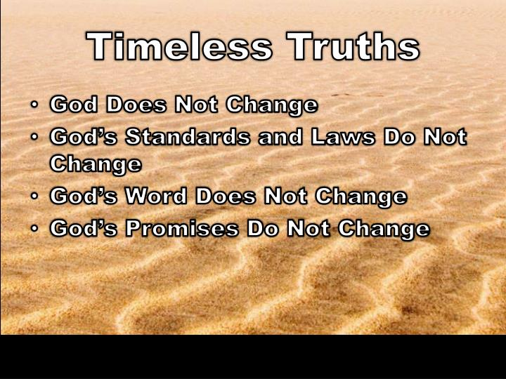 Timeless Truths