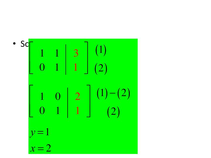 Solve the following equation: