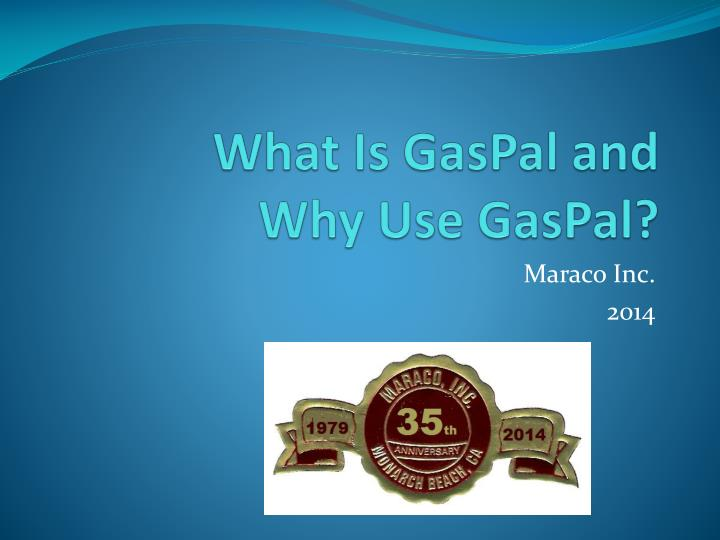 what is gaspal and why use gaspal n.