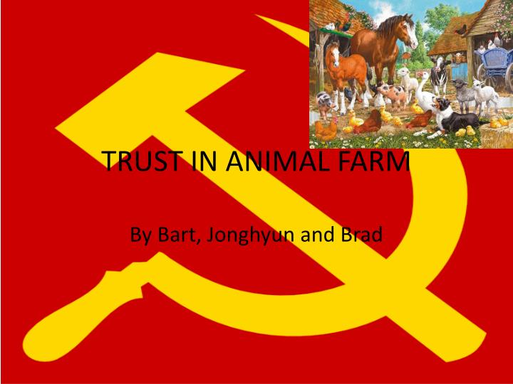 animal characters in the novel animal farm