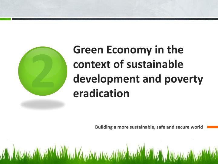 green economy in the context of