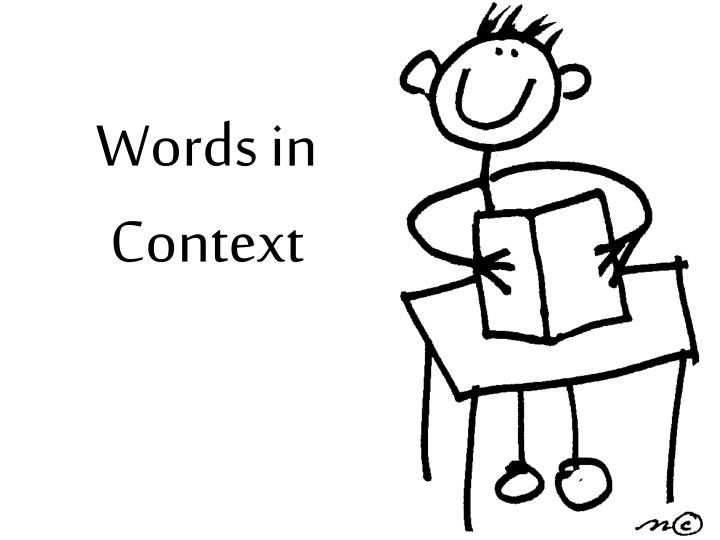 words in context n.