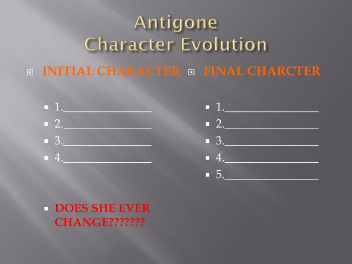 antigone character descriptions