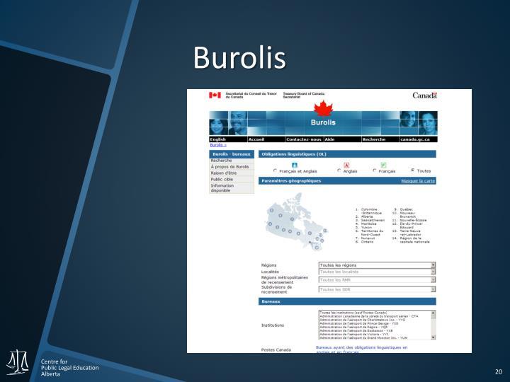 Burolis