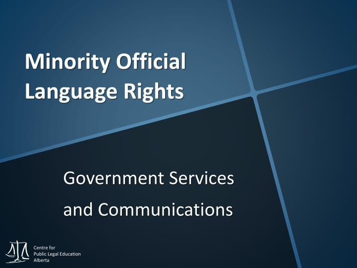 Government services and communications