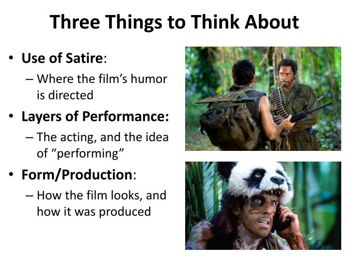 three things to think about n.