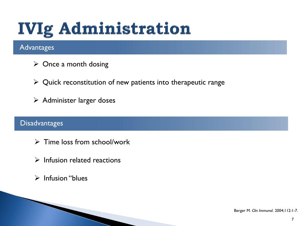 PPT - IVIg vs SCIg How to Choose? PowerPoint Presentation