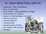 iii salem witch trials 1691 92