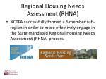 regional housing needs assessment rhna