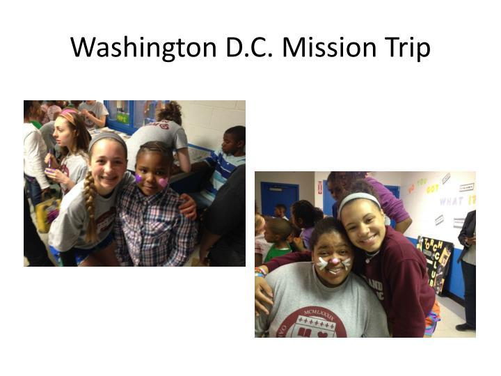 Washington D.C. Mission Trip