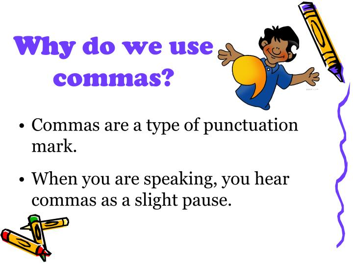 PPT Commas 1 Dates And Addresses PowerPoint Presentation ID