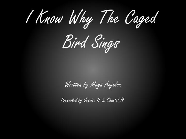i know why the caged bird sings n.