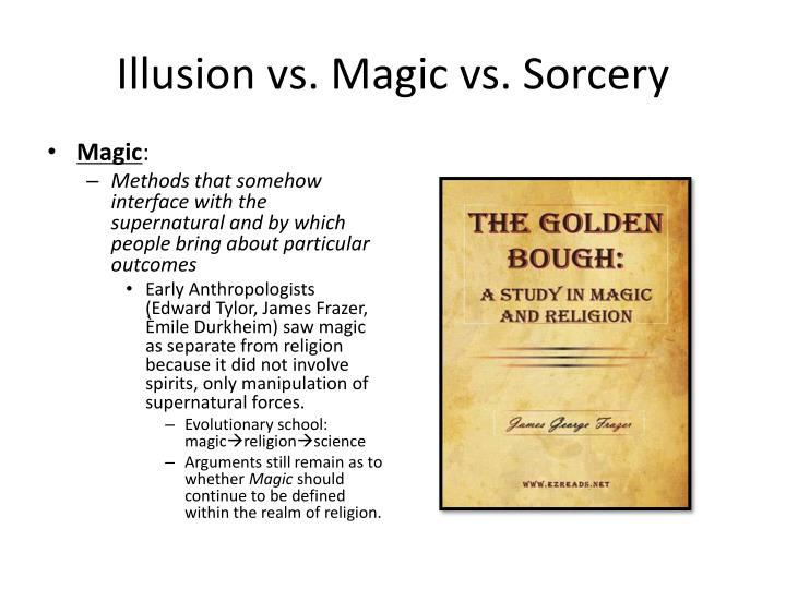 Illusion vs magic vs sorcery1