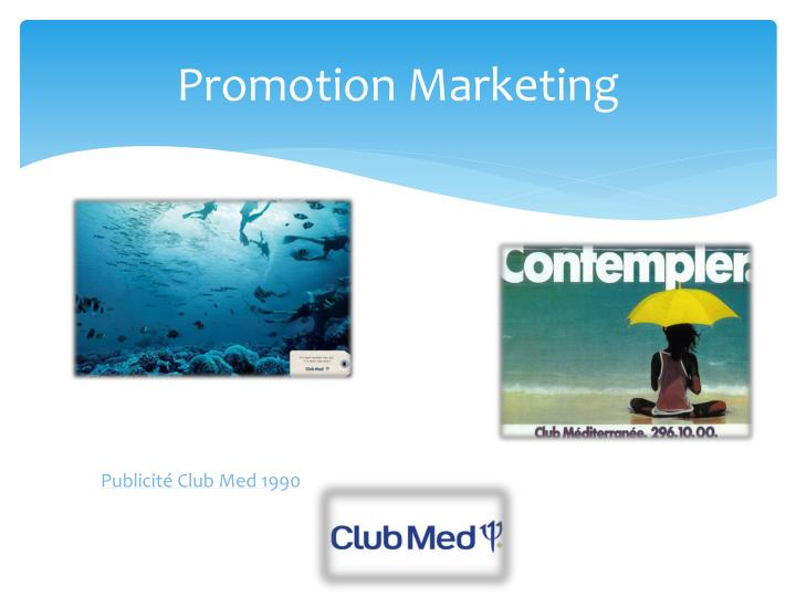Promotion Marketing