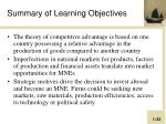 summary of learning objectives2