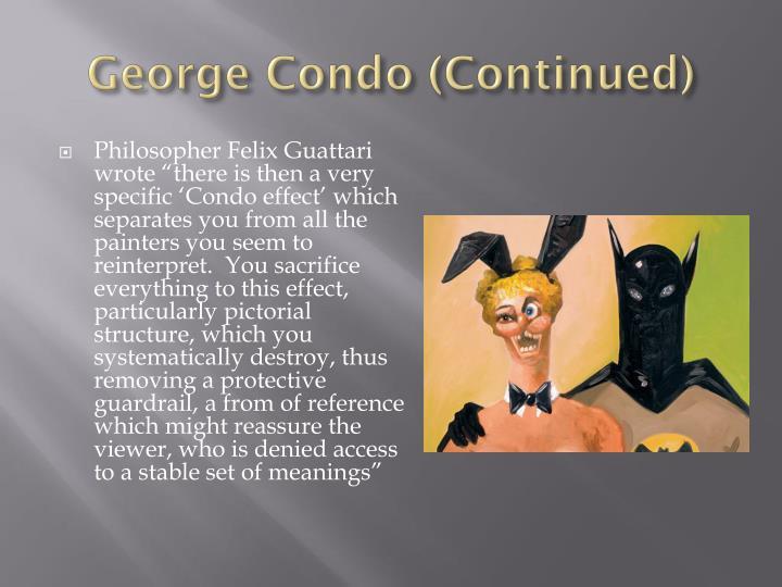 George Condo (Continued)