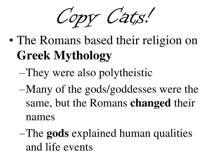 Copy Cats!