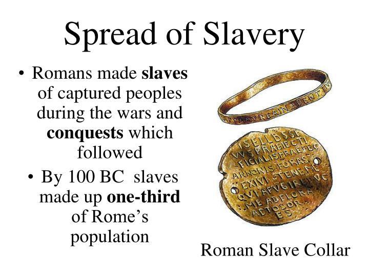 Spread of Slavery