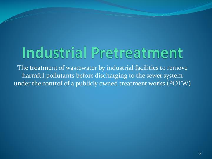 Industrial Pretreatment
