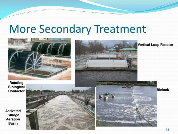 More Secondary Treatment