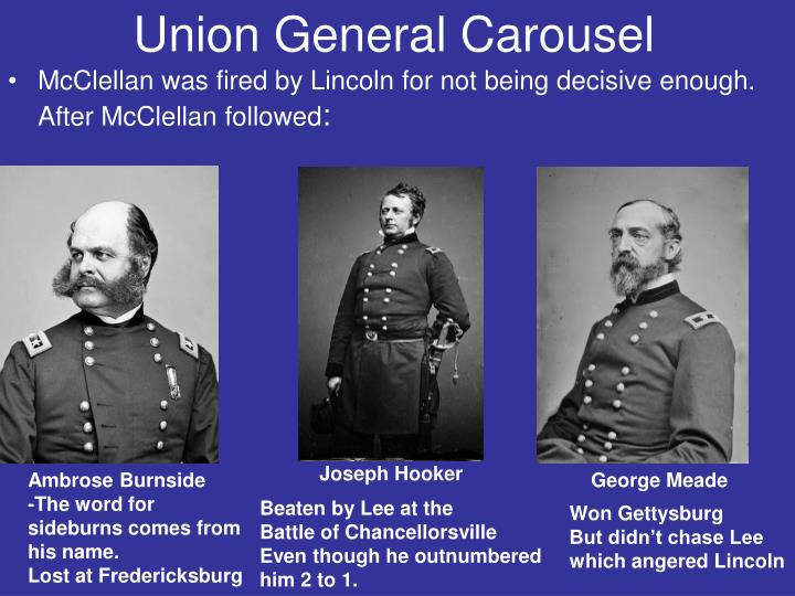 Union General Carousel