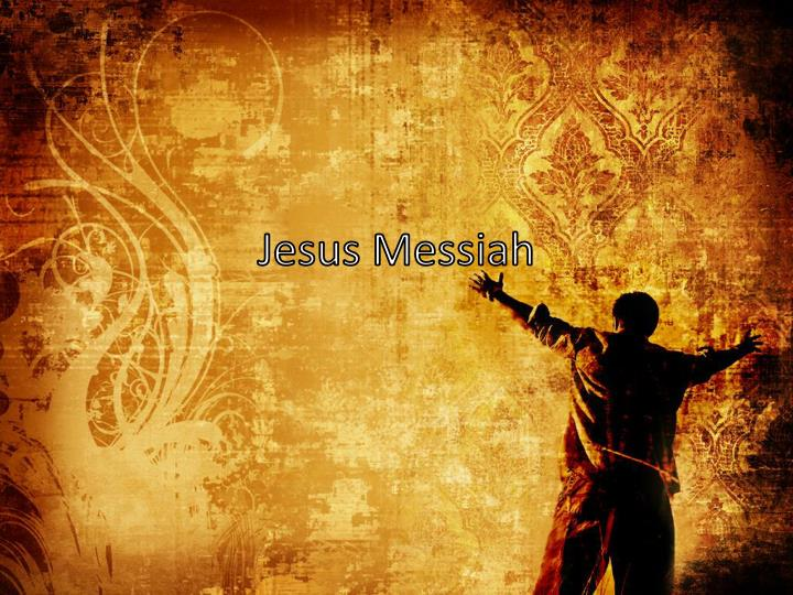 jesus messiah n.