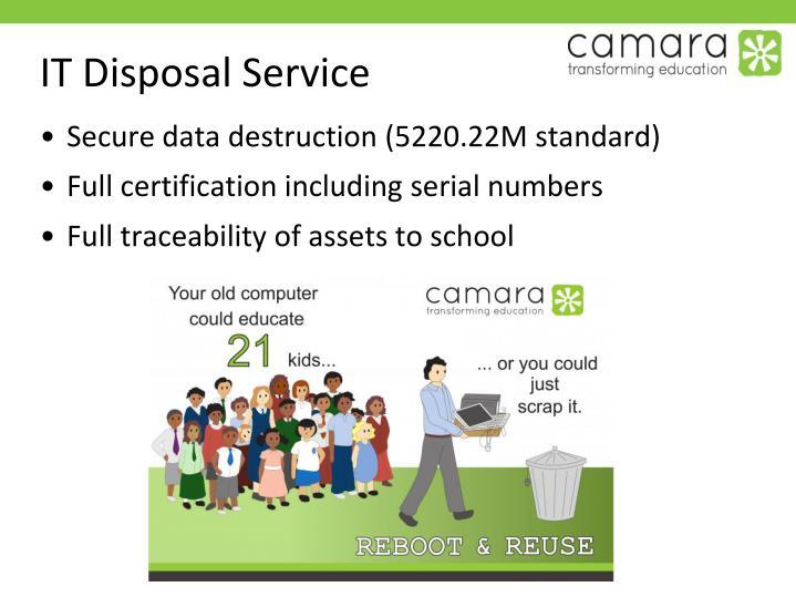 IT Disposal Service