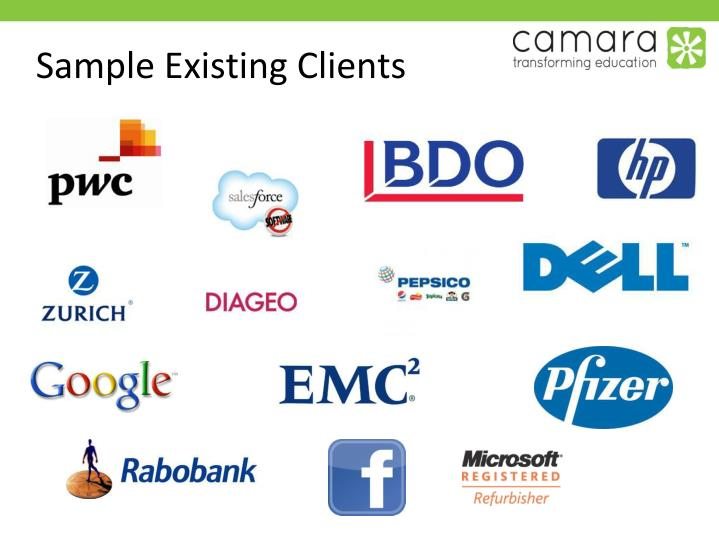 Sample Existing Clients