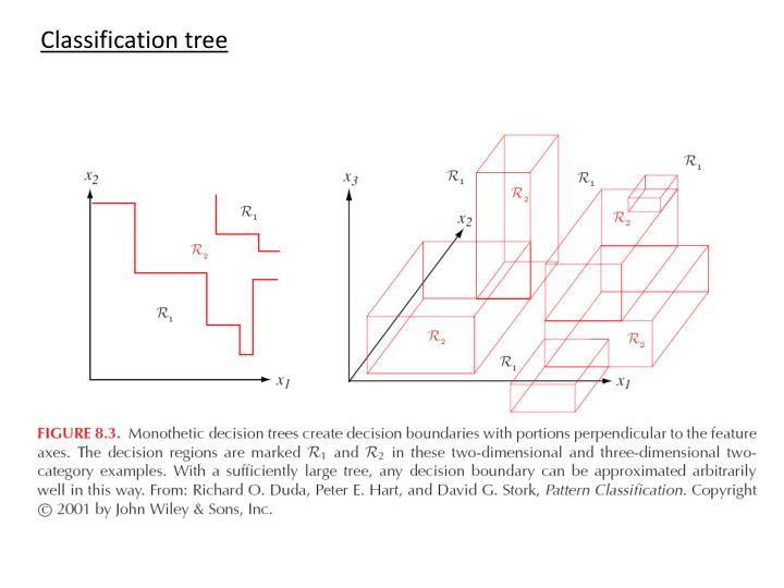 Classification tree