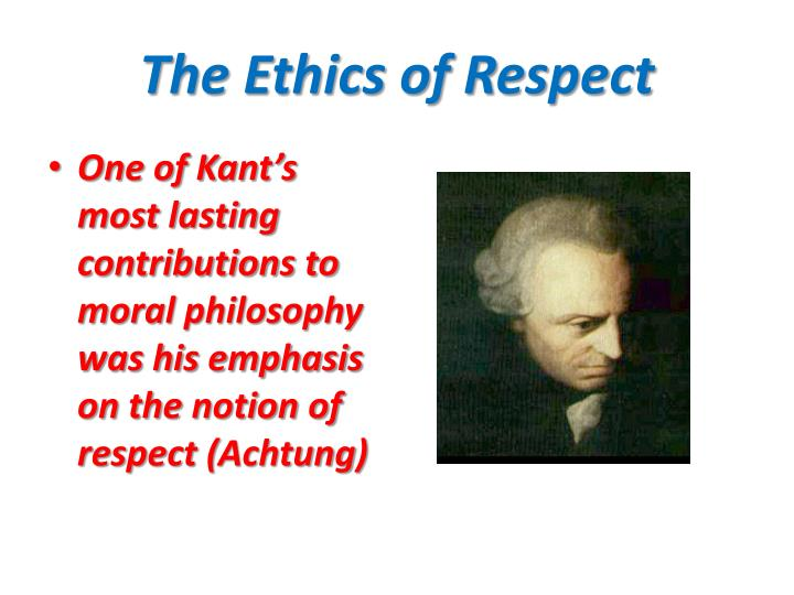 the notion of ethics and personal philosophy of an individual True morality - rational principles for optimal  importance in guiding the individual's life personal ethics is actually the  the notion that human.