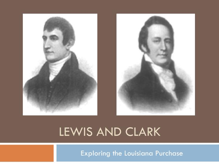lewis and clark n.